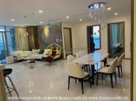 A bright & energetic living environment in Vinhomes Central Park for rent