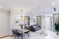 Welcome to this light-filled charm apartment in Vinhomes Central Park !