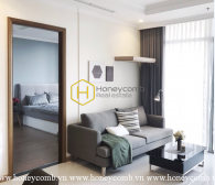 Minimalist furnished apartment with cozy layout in Vinhomes Central Park for rent