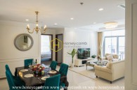 Comtemporary style with neutral hue layout in this Vinhomes Central Park apartment