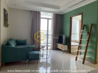 Modern features and great view apartment in Vinhomes Central Park for rent