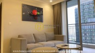 An aesthetic apartment with elegant interiors in Vinhomes Central Park