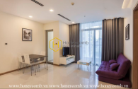 A sophisticated apartment with neat design and full light in Vinhomes Central Park