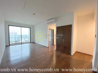 Embracing the beauty of city view in this unfurnished and luxurious apartment in D'edge Thao Dien