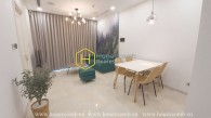 Explore Scandinavian interiors apartment with charming river view in Vinhomes Golden River