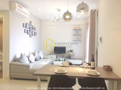 Contemporary fully furnished 2-beds apartment in Masteri Thao Dien