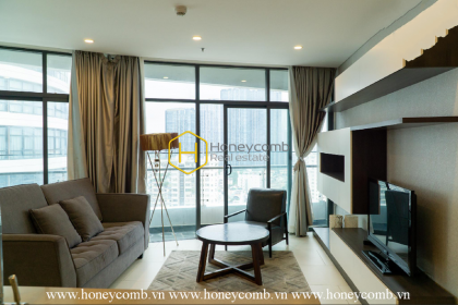 Elegant and fully functional 2 bedrooms apartment in City Garden