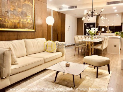 Sophisticated Style 1 bedroom apartment in City Garden for rent