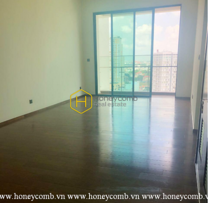 Unfurnished apartment with extraordinary city view is waiting for you to decorate in D'edge