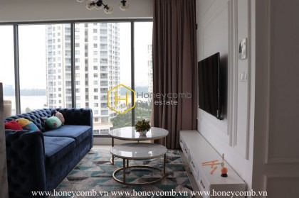 An extraordinary stunning apartment with highly elegant and luxurious interiors in Diamond Island