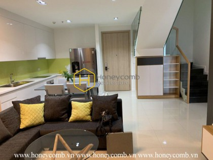 The unique and modern 3 bed duplex-apartment from The Estella Heights