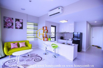The lovely 2 bedroom apartment with gentle beauty at Masteri An Phu