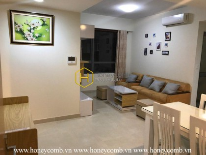 This cozy 2 bed-apartment will give the very soothing feeling to you at Masteri Thao Dien