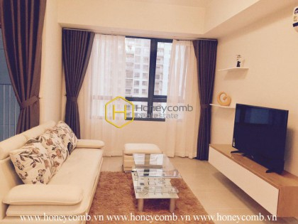 Fully furnished 2 bedroom apartment with high floor in Masteri Thao Dien