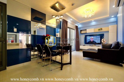 Luxury with 2 bedrooms apartment in Masteri Thao Dien for rent