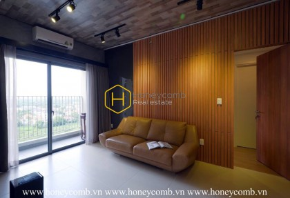 The 3 bedrooms apartment with modern style is very nice in Masteri Thao Dien
