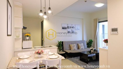 Cheap 2 beds apartment for rent in Masteri, high floor