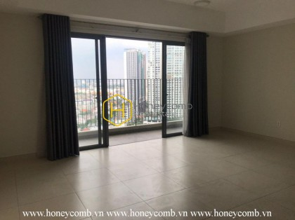 Customize your style in this unfurnished apartment with great city view in Masteri Thao Dien