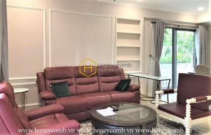 Duplex three bedrooms apartment large area in Masteri for rent