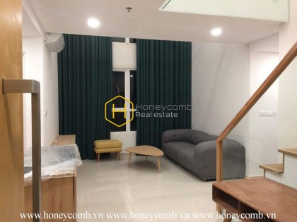 Simple style with 2 bedrooms duplex apartment in Vista Verde for rent