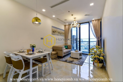 Enhance your lifestyle with this unique and stylish apartment in Vinhomes Golden River for rent