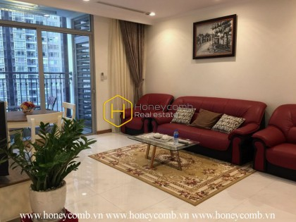 Simple but elegant! The coolest apartment in Vinhomes Central Park for rent