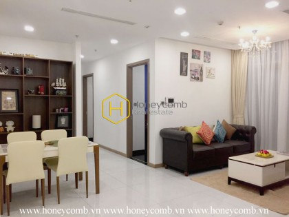 Convenient well-arranged apartment in Vinhomes Central Park for rent