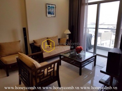 Vinhomes Central Park apartment with strongly Vietnamese inspiration for lease