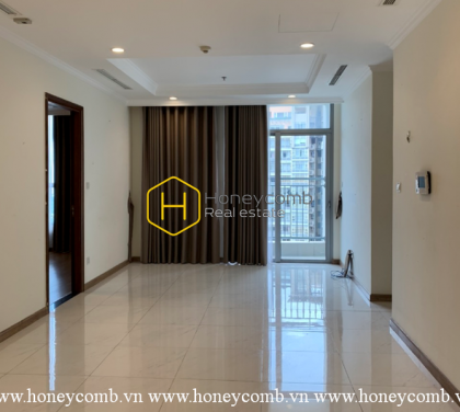 Unfurnished apartment with spacious and airy space, prime location for rent in Vinhomes Central Park