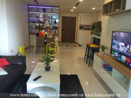 Ecofriendly and cozy apartment with fully amenities for rent in Vinhomes Central Park