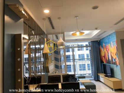 Urban vibes - Stylish decor - Unique apartment in Vinhomes Central Park for lease