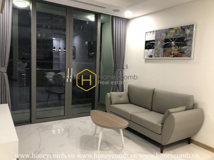 1 bedroom apartment with nice furniture in Landmark 81 for rent