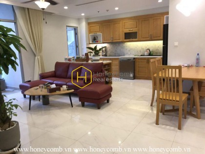 Cozy decoration with 4 bedrooms apartment in Vinhomes Central Park