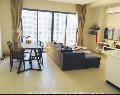 The 2 bedrooms-apartment is very convenient in Masteri Thao Dien