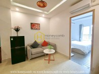 An enchanting serviced apartment for rent in District 2