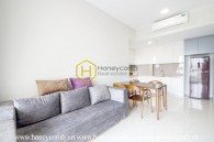 This 2 bed-apartment is very suitable for modern environment but still very warm at Masteri An Phu