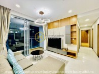 This gorgeous apartment in Sunwah Pearl promises to give you your most enjoyable time