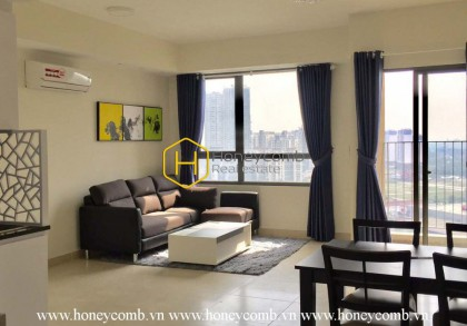 Two bedrooms apartment with wonderful living room in Masteri Thao Dien for rent