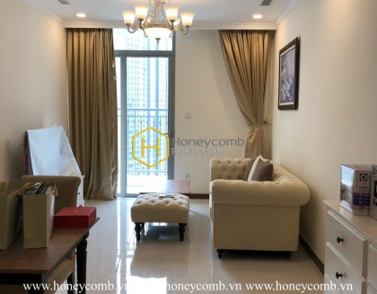 A gleaming apartment shining in Vinhomes Central Park