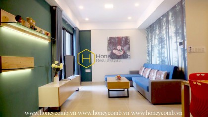 High floor apartment with two wonderful bed rooms in Masteri Thao Dien for rent