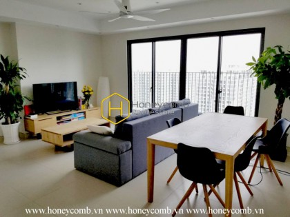 This Masteri Thao Dien apartment paints a luxurious space