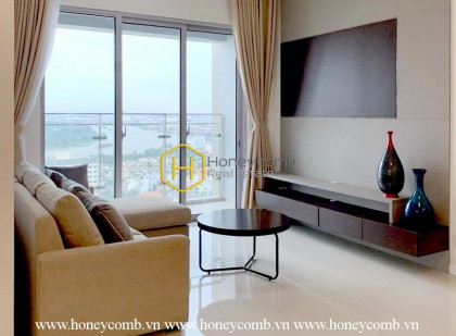 The 2 bed-apartment is so modern with breathtaking view at Estella Heights
