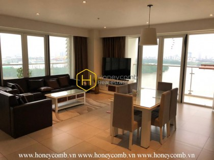 Luxury apartment with high-end furniture in Diamond Island