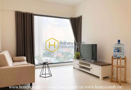 Harmonious colors and clear layout are the highlights of this Gateway Thao Dien apartment