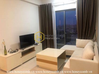 Masteri Thao Dien 1-bedroom apartment with high floor