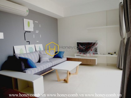 High floor apartment for rent in Masteri Thao Dien with 2 bedrooms