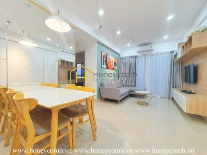 A light-filled apartment with a gentle design in Masteri Thao Dien
