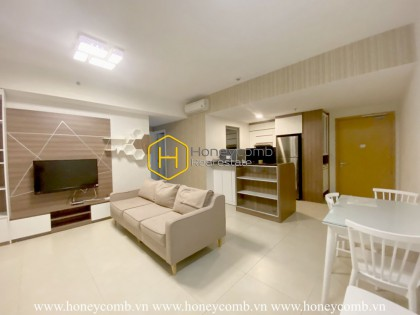 Warming modern space with soothing lightning in Masteri Thao Dien apartment for rent