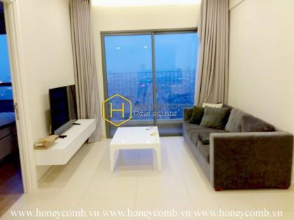 Decor accessories are kept to a minimum in this Masteri Thao Dien apartment