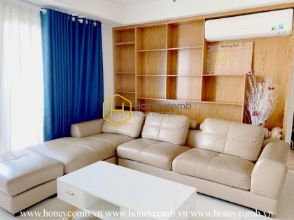 Good furnished, three beds apartment city view in Masteri Thao Dien for rent